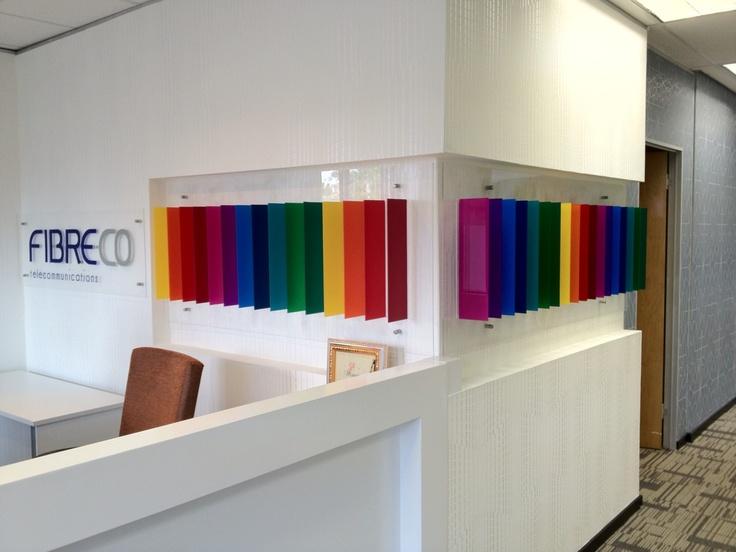 Reception @ FibreCo  #GiomioDesign