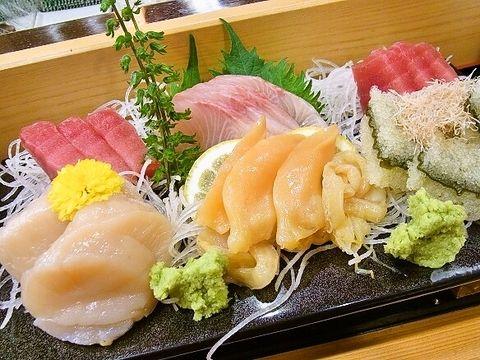 刺身の盛り合わせ #sashimi