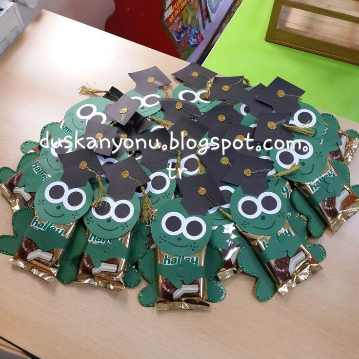 Küçük Kurbağa - Karne Hediyesi #okuloncesi #presschool #kidscraft…