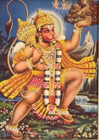 Monkey Cookies:  A Sweet Vegan Offering to Lord Hanuman