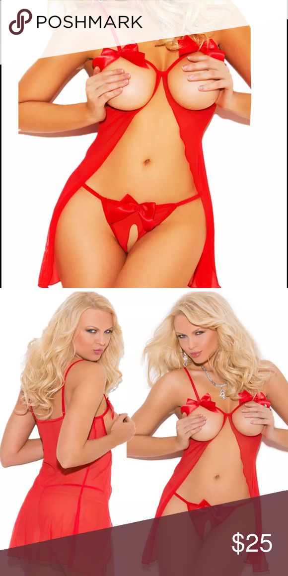🌹Sexy Red Hot Lingerie🌹 Make me a reasonable offer while it's still available!!!!  New, comes in bags, One Size, usually fits a XS, S.  Thx Intimates & Sleepwear