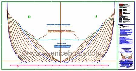Conservazione > Progetti e sistemi di progettazione > Catalogo dei piani di costruzione > Barche > Gondola