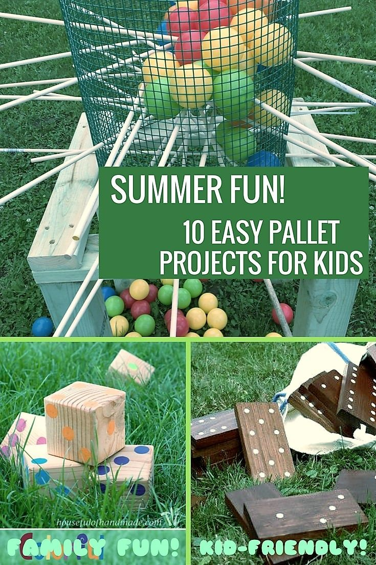 10 Kid Friendly Pallet Projects For Summer Fun Pallet Projects