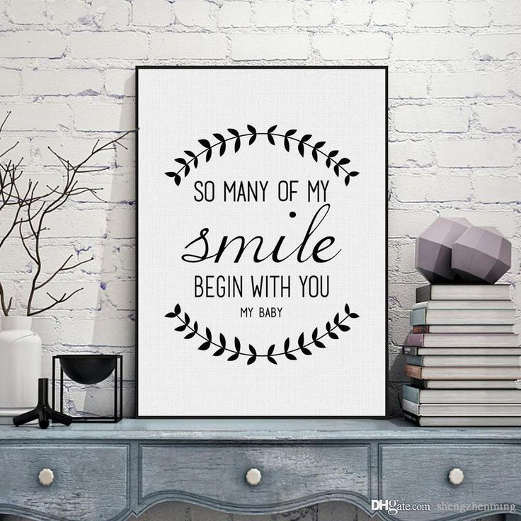 Wholesale cheap custom made online, brand - Find best black white nordic minimalist typography smile love quote art print poster wall picture canvas painting home decoration no frame at discount prices from Chinese paintings supplier - shengzhenming on DHgate.com.
