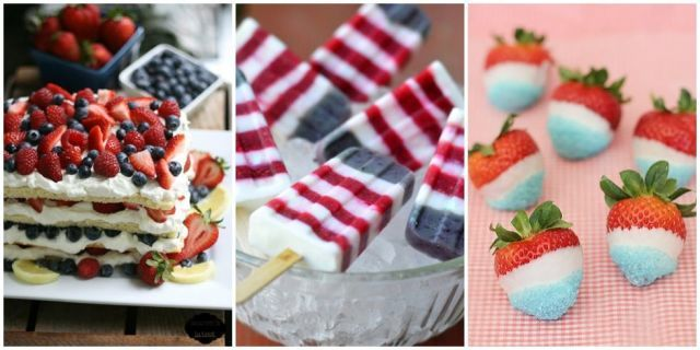fourth of july festive recipes