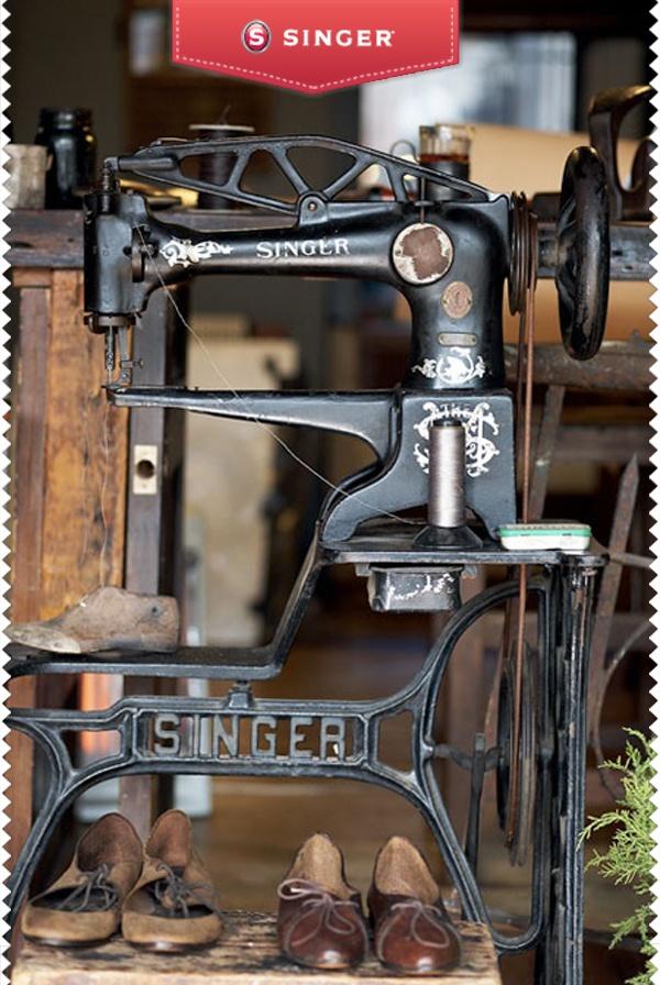 Máquina de coser #vintage #Singer #costura  – Singer México