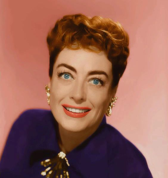 Image result for JOAN CRAWFORD IN FIFTIES