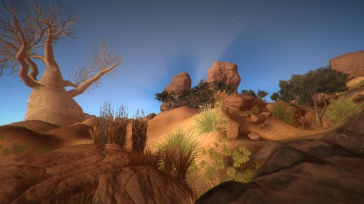 Kalahari Desert Environment This environment package is ideal for your desert missions and adventures on desktop or mobile platforms. Available here: http://u3d.as/content/3d-game-ready/kalahari-desert-environment