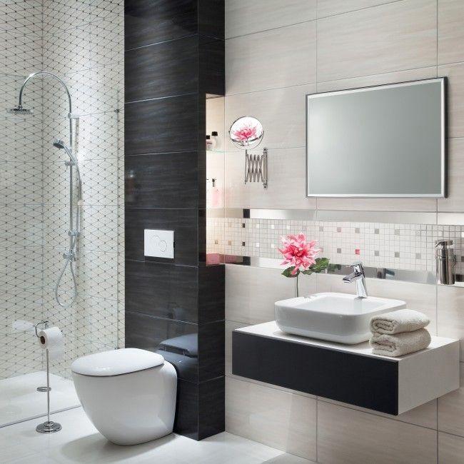 Dekor Onde Arte 30 8 X 60 8 Cm Kremowy Plytki Scienne Decor Framed Bathroom Mirror Home Decor