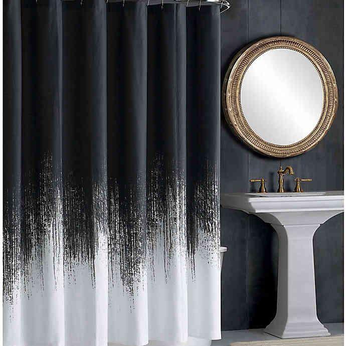 Vince Camuto Lyon Shower Curtain Bed Bath Beyond Neutral