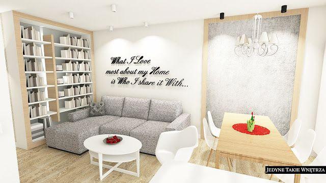 Biel   delikatna szarość   jasne drewno = Urokliwe wnętrze
