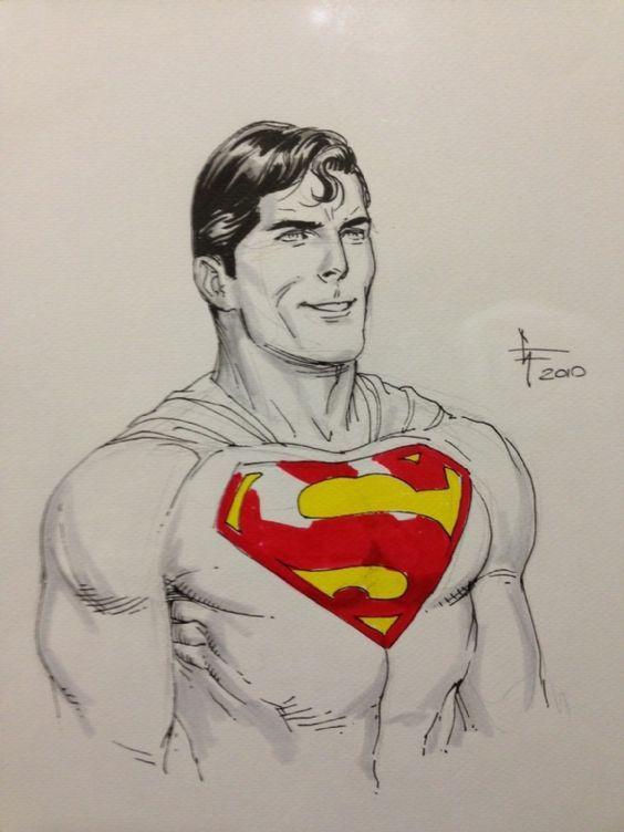 Superman Art by Gary Frank