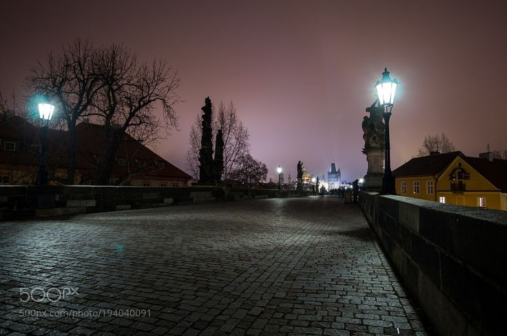 Prague At Night by E-M-Photography #nature #mothernature #travel #traveling #vacation #visiting #trip #holiday #tourism #tourist #photooftheday #amazing #picoftheday