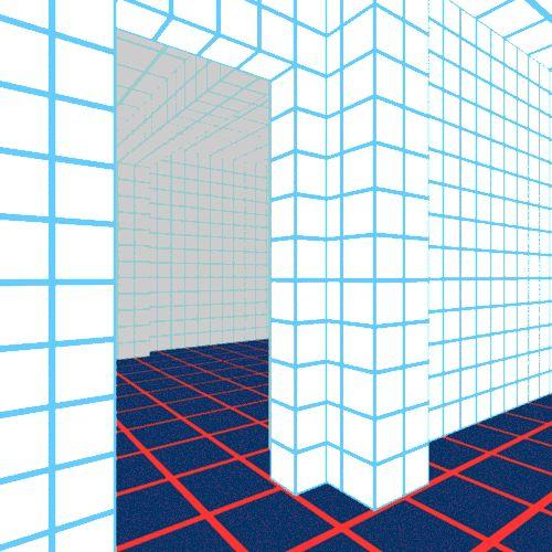 Interior - Vaporwave GIF