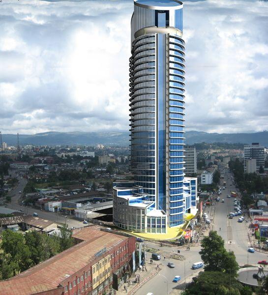 Addis Ababa's Skyscraper Ethiopia Africa