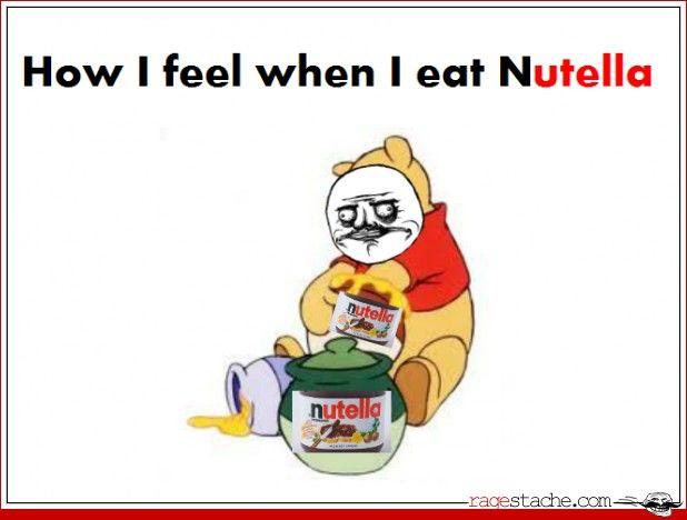 How I Feel When I Eat Nutella  yeeessss...... annnndddd?