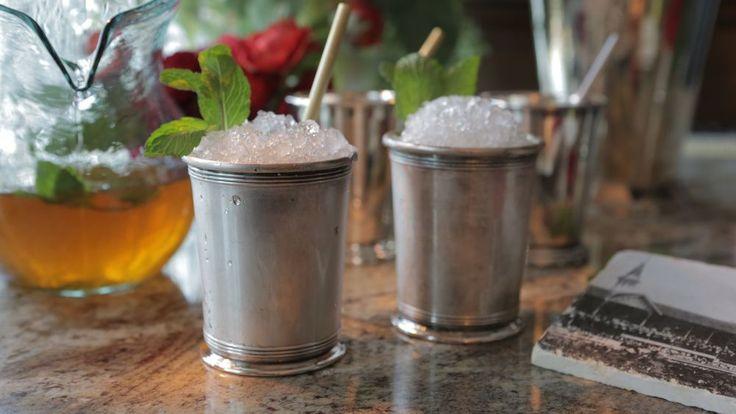 Mint Julep Party Pitcher----Damaris Phillip's Recipe