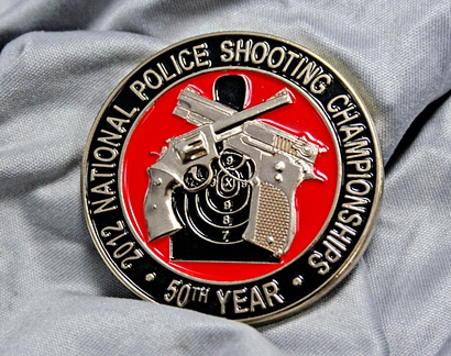NRA's 2012 Police Shooting Championships Challenge Coin: National Police, Nras 2012, 2012 Police,  Hockey Puck, Championship Challenges, Dads Challenges, Police Shoots, Shoots Championship, Challenges Coins