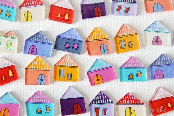 SHRINK PLASTIC HOUSES