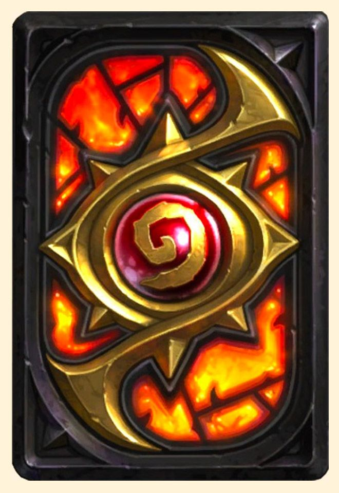 Carte Hearthstone.Dos De Carte Hearthstone Niveau Secret Card In 2019
