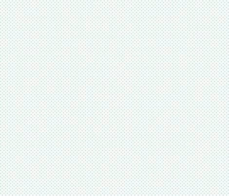 mini polka dots mint green and white fabric by misstiina on Spoonflower - custom fabric