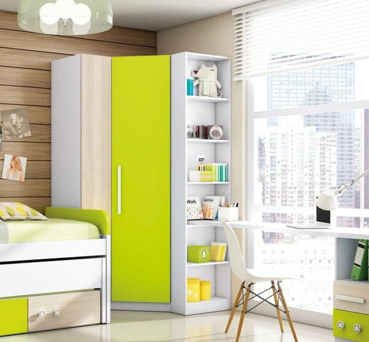 armarios de esquina que solucionarn tu problema de espacio with ideas para armarios empotrados
