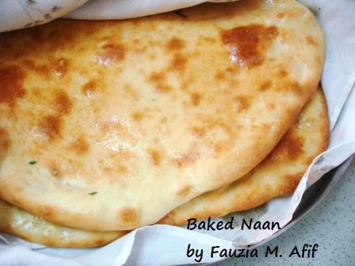 Baked Naans | Fauzia's Kitchen Fun