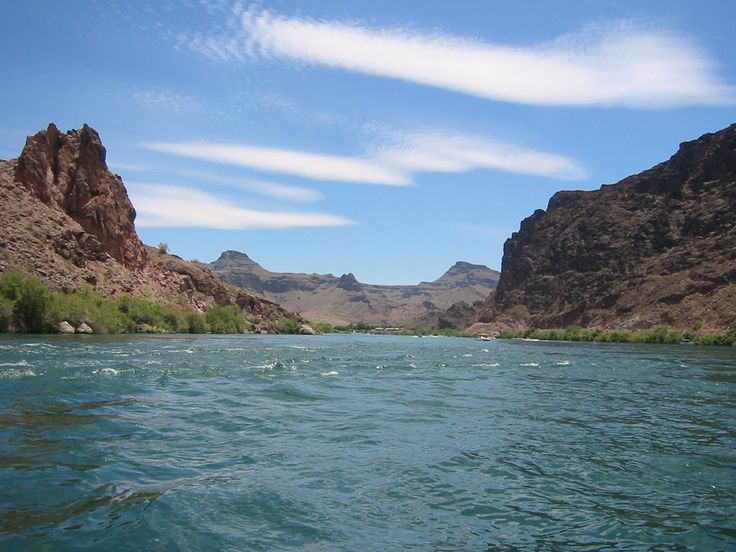 Colorado River in Parker, AZ. <3  Been there, done that!