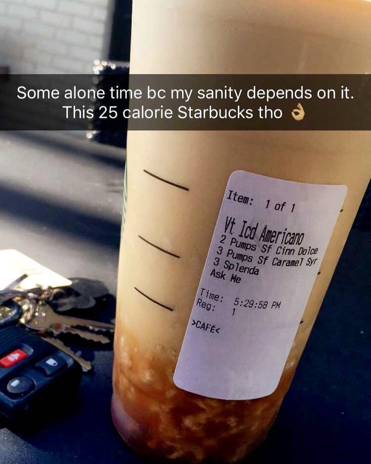 I don't get many chances to take a breather and be by myself and just relax. Yesterday I happened to take one between my last client and dinner. So I stopped by Starbucks and got myself a #blendicano. Hash tag Basic. Iced Americano with SugarFree syrup of your choice don't do anything under 2-3 pumps because it just won't taste right and your choice of Splenda. Or whatever stevia. And ask them to BLEND it. 25 calories? Can't beat it.  Coffee keeps me sane  Found this tip elsewhere a while…