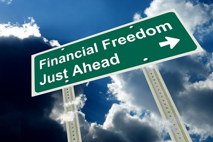 Work towards my ultimate goal of financial freedom