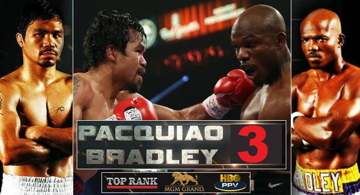 Tweet PACQUIAOVS. BRADLEY FINAL PRESS CONFERENCE!  Today! Wednesday, April 6 at 11 A.M. PT MGM Grand – David Copperfield Theater  Streamed Live via www.toprank.tv 2 P.M. ET / 11 A.M. PT   LAS VEGAS, NV (April 6, 2016) – Boxing's only eight-division world champion and the reigning Fighter of the Decade, Congressman …