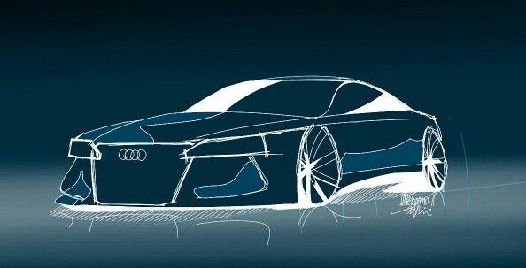 SketchBook galaxy. Audi. Design. Car design. Car sketch. ◆Massimo Serafini◆ AUDI CONCEPT. #Bontemp