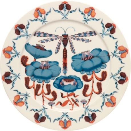 Korento Plate 30 cm blue