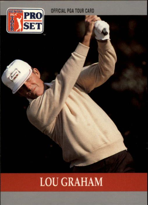 1990 Pro Set #100 Lou Graham RC
