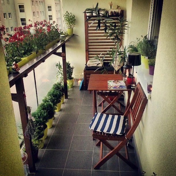 Мебель для балкона: 20 фото