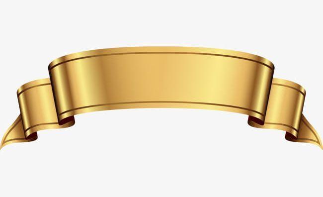 Cartoon Gold Ribbon Png Arc Atmosphere Award Backgrounds Banner Ribbon Png Poster Background Design Logo Design Art