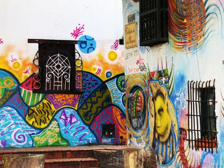 Murales en El Callejón de las Brujas