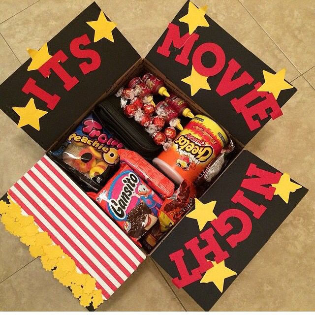 Military Care Package, movie night