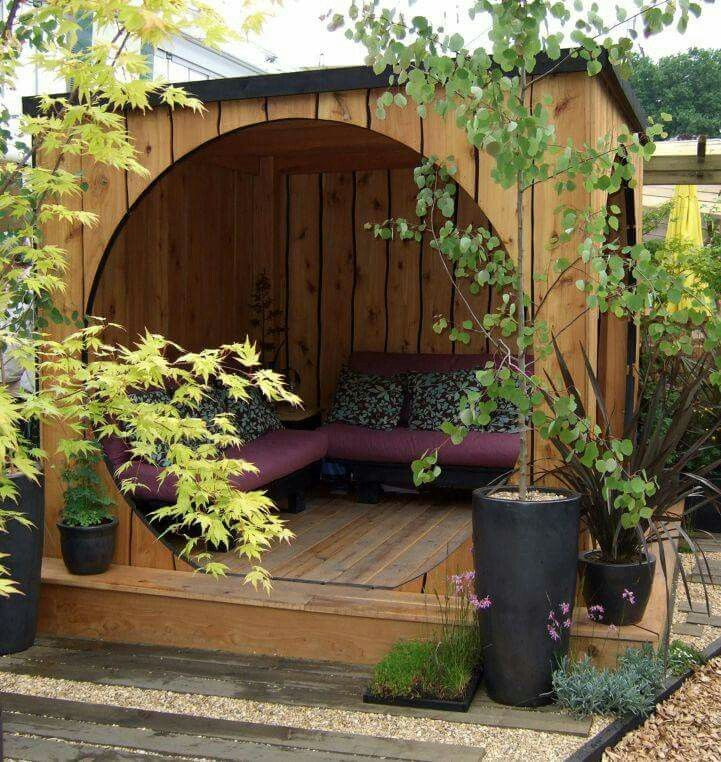 Outdoor resting area
