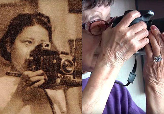 """Tsuneko Sasamoto é uma renomada fotógrafa japonesa que nasceu em 1 de setembro de 1914, ou seja, ela tem 102 anos de idade! Considerada a primeira fotojornalista do país, ela começou a fotografar aos 25 anos e precisou romper diversos tabus sociais para seguir a carreira. """"Quando eu era jovem, geralmente me falavam 'você é só uma mulher, como você pode pensar em ser uma fotógrafa?' Mas depois vi a fotografia de Margaret Bourke White e soube que poderia ser como ela algum dia"""", contou a…"""