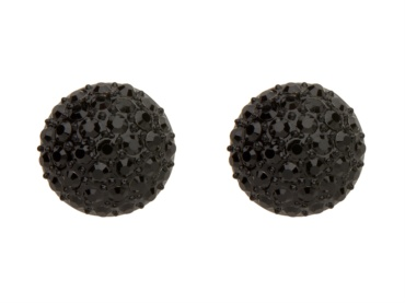 My black Mimco crystal dome earrings ♥ Thanks @jo H