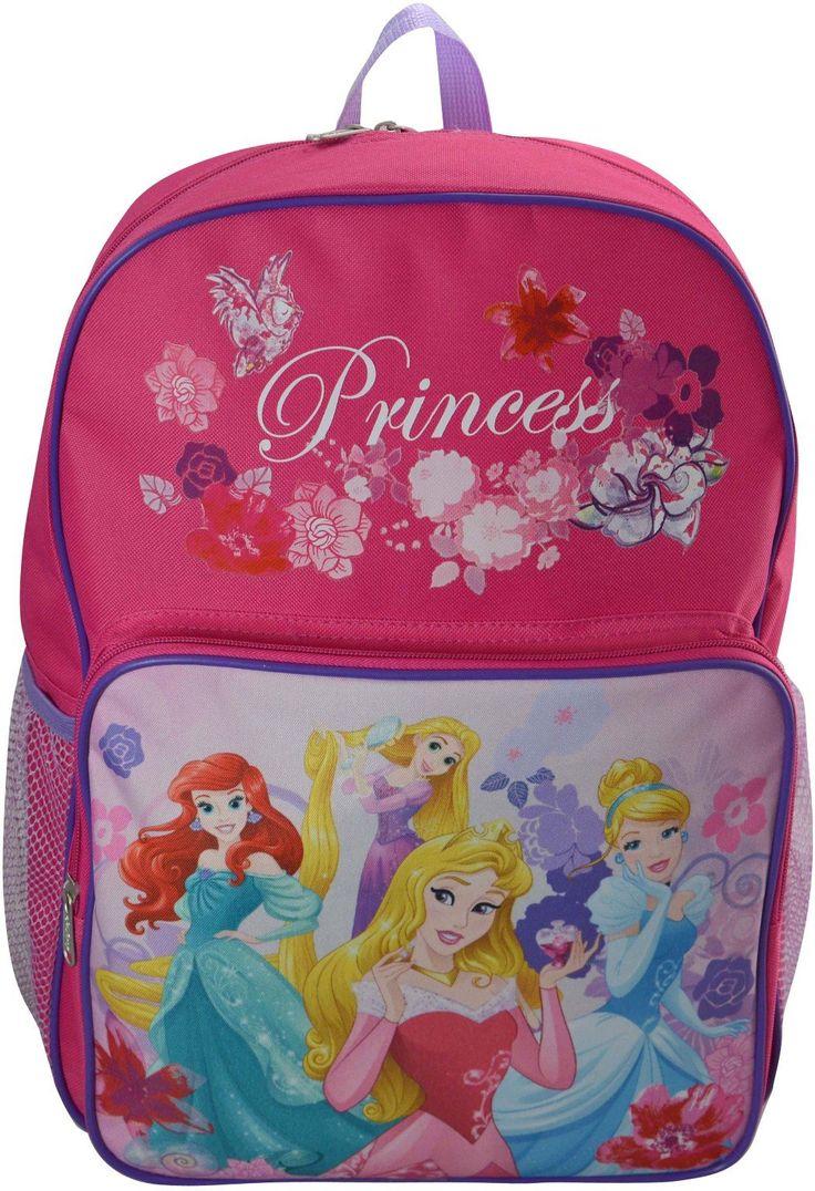 "Wholesale Backpacks Disney Princess 16"" Backpacks 48 units"