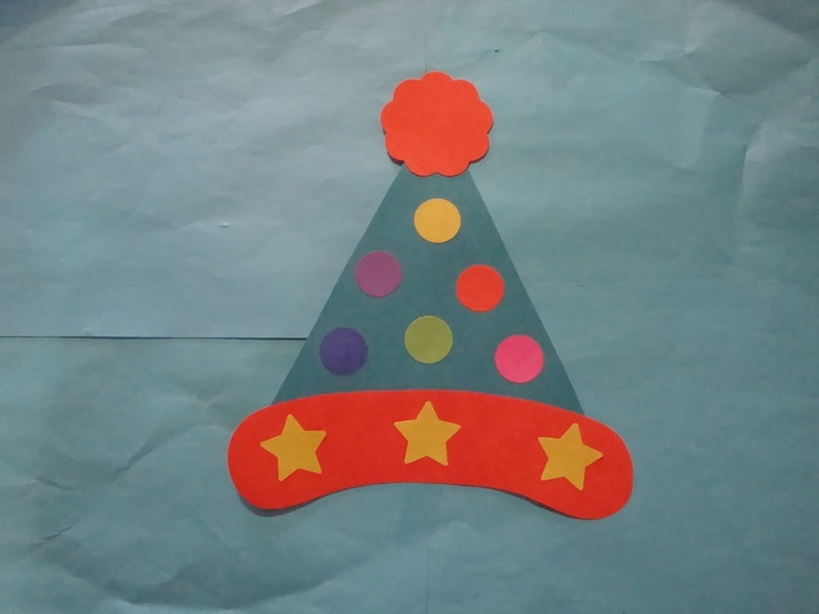 25 unique circus crafts preschool ideas on pinterest for Clown hat template