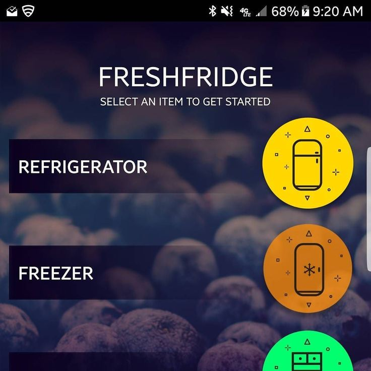 Grab some patties and freeze some wieners the Freezer space is now available! #food #app #freezer #storage #startups #FreshFridge #food #apps
