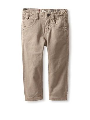 50% OFF Burberry Kid's Long Stretch Pant (Linen/Pierre Check)