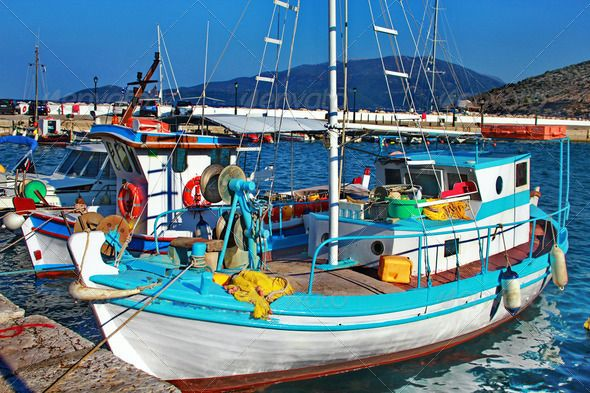 Greek Fishermans Boat