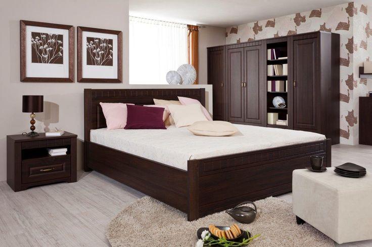 Spálňa Decodom: Tirol prevedenie: Dub Bardolino Schoko - Dub Bardolino Schoko  [Bedroom: Tirol colours: Dub Bardolino Schoko - Dub Bardolino Schoko]