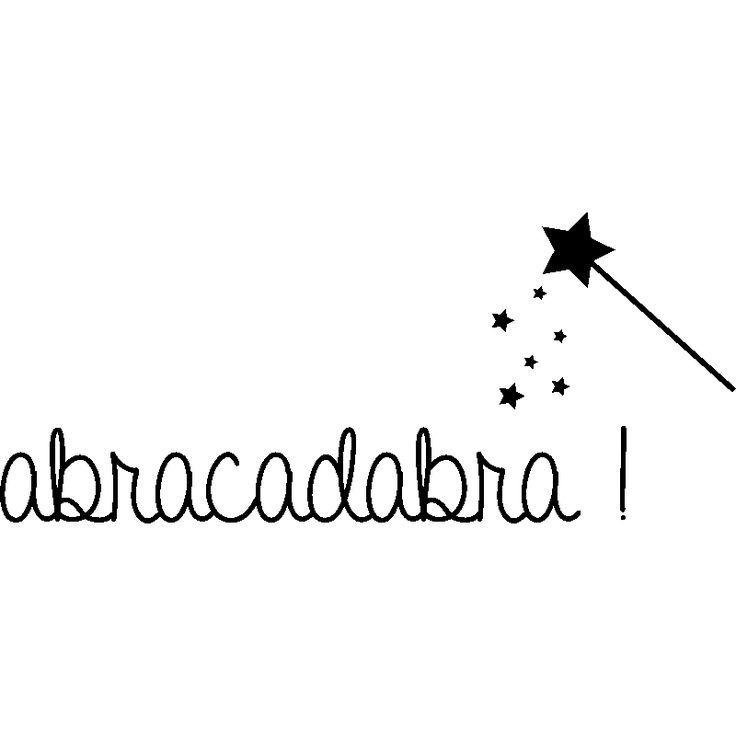 awesome Citation - Sticker Abracadabra