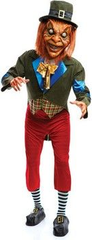 St. Patrick's Day Costumes: Scary Leprechaun Costume (details at Adults-Halloween-Costume.com) #halloween #Irish #Leprechaun #StPatricks #costumes