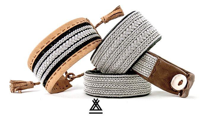 http://authentik-lapon.fr Chaque bracelet est unique,fait à la manière des anciens entièrement à la main. #bracelet sami #bracelet lapon